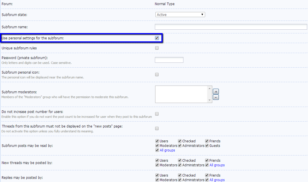 Creation of Subforums in the Forum Module - uCoz Community
